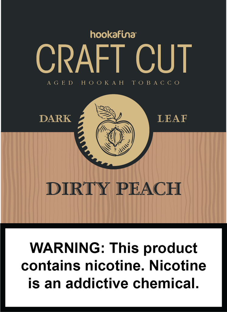 Hookafina Craft Cut Dirty Peach