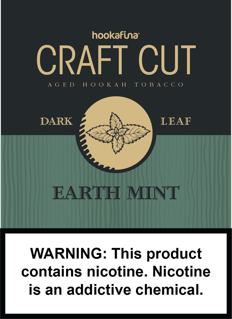Hookafina Craft Cut Earth Mint - HFN