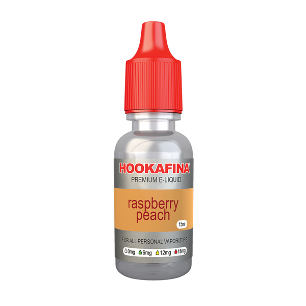 Hookafina E-Juice Raspberry Peach 15ml