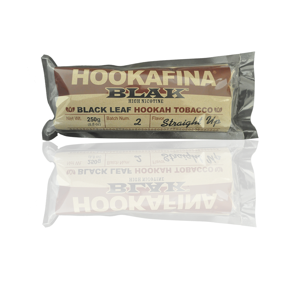 Hookafina BLAK Shisha Straight Up - HFN