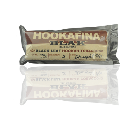 Hookafina BLAK Shisha Straight Up