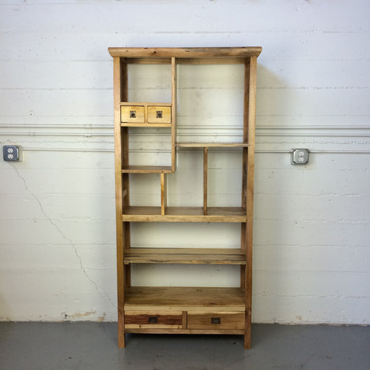 Asymmetrical Shelves