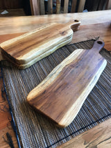 Teak Root Serving Board, Live Edge