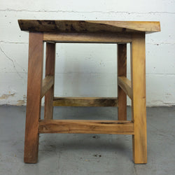Lutung Viewing Stool, Live Edge