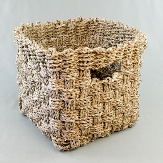 Seagrass Basket, Square
