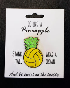 Pineapple Pin - Pura Vida Volleyball