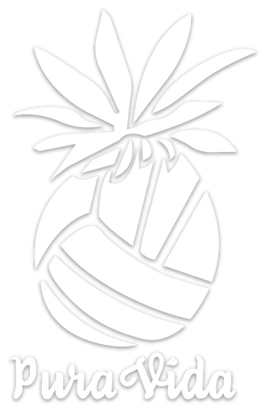 Pura Vida Volleyball Pineapple Decal Vinyl - Pura Vida Volleyball