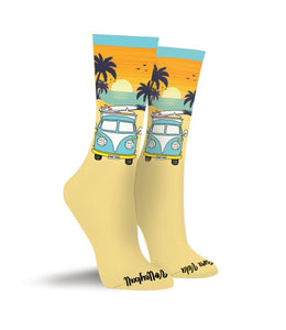 VW Pura Vida Volleyball Crew Socks - Pura Vida Volleyball
