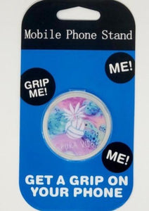 Pura Vida Volleyball Pineapple Splash Collapsible Grip & Stand for Phones and Tablets - Pura Vida Volleyball
