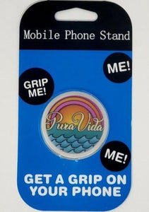 Pura Vida Collapsible Grip & Stand for Phones and Tablets - Pura Vida Volleyball