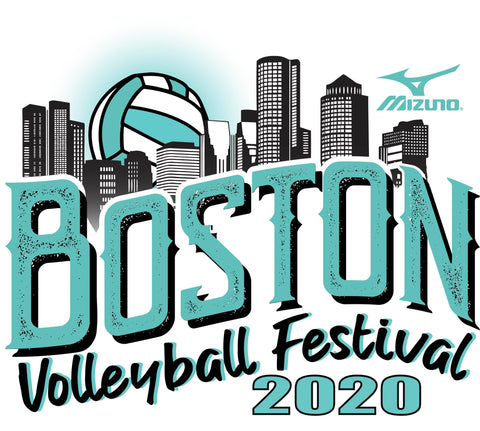 Boston 2020 Volleyball Festival Pin