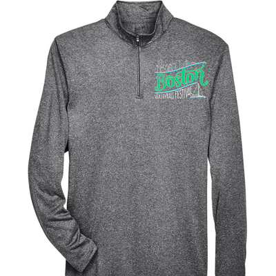 *Boston 2021 Performance 1/4 zip - Pura Vida Volleyball