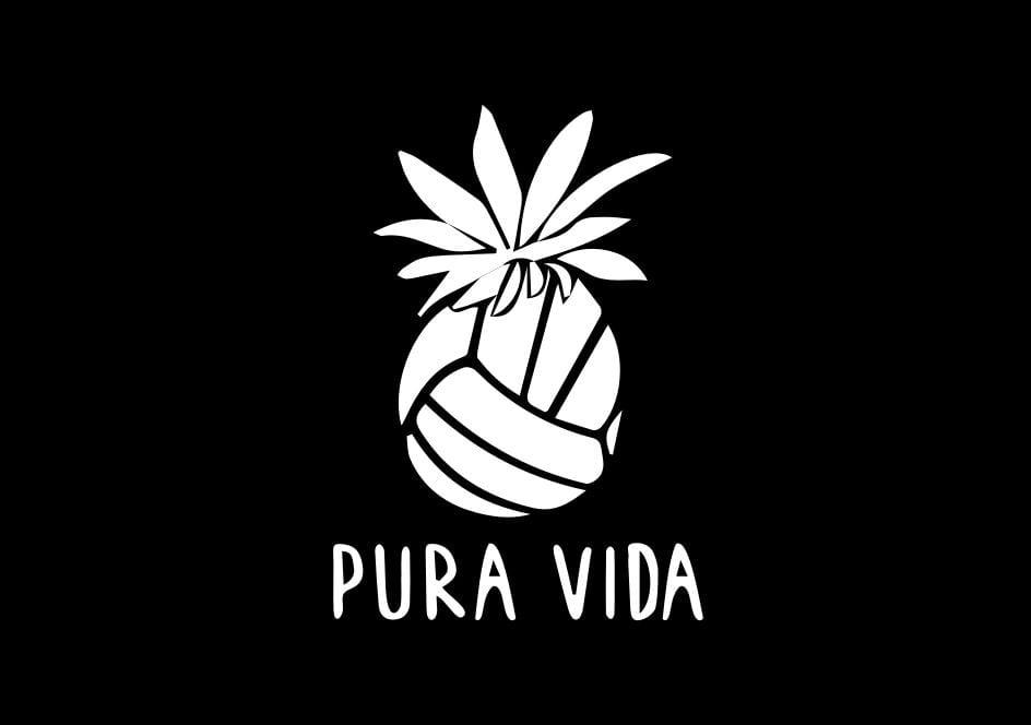 Pura Vida Volleyball Pineapple Collapsible Grip & Stand for Phones and Tablets - Pura Vida Volleyball