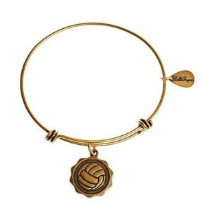 Bangle Charm Bracelet Volleyball - Pura Vida Volleyball