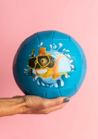 Large Fishy Fun Volleyball