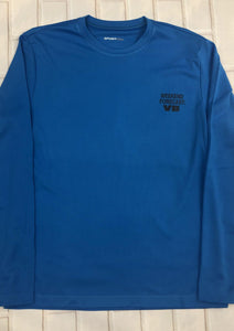 Weekend Forecast VB Long Sleeve Pura Vida Volleyball Dri-Fit -Blue - Pura Vida Volleyball