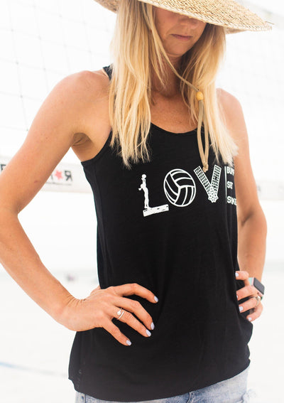 Love Volleyball Tank - Pura Vida Volleyball