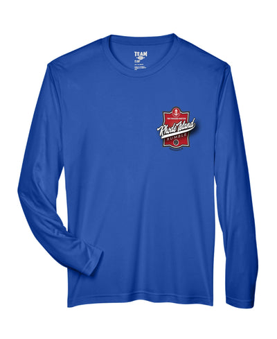 Rhode Island Rumble Blue Long Sleeve Dri-Fit - Pura Vida Volleyball