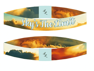 "Be Inspired Live Life Bracelet ""Sky's the Limit"""