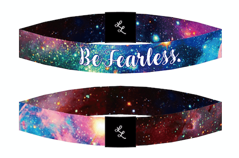 "Be Inspired Live Life Bracelet ""Be Fearless"" - Pura Vida Volleyball"