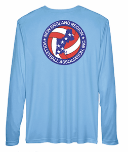 NERVA Dri-Fit Shirt Baby Blue Long Sleeve - Pura Vida Volleyball
