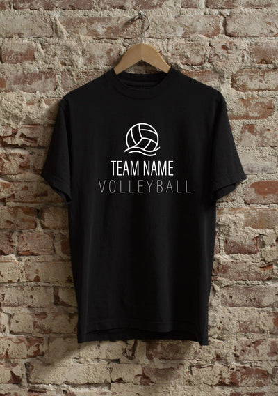 Customized Volleyball Team Shirt - Pura Vida Volleyball