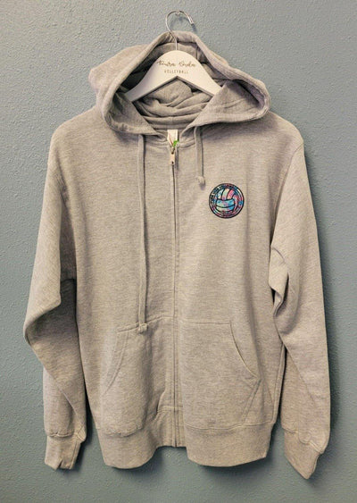 Full Zip Jacket - Pura Vida Volleyball