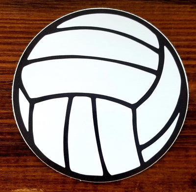 Big Volleyball Sticker - Pura Vida Volleyball