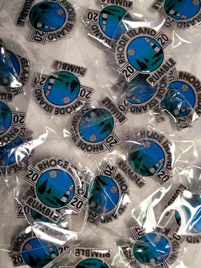 Rhode Island Rumble Volleyball Pin - Pura Vida Volleyball