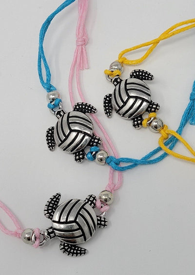 Volleyball Turtle Ankle Bracelet - Pura Vida Volleyball