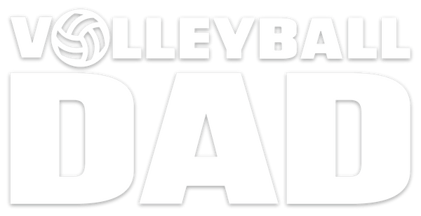 Volleyball Dad Vinyl Decal - Pura Vida Volleyball