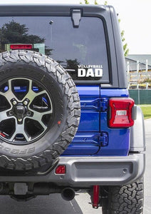 Volleyball Dad Vinyl Decal