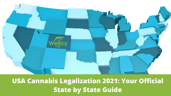 Cannabis Legalization in the United States 2021