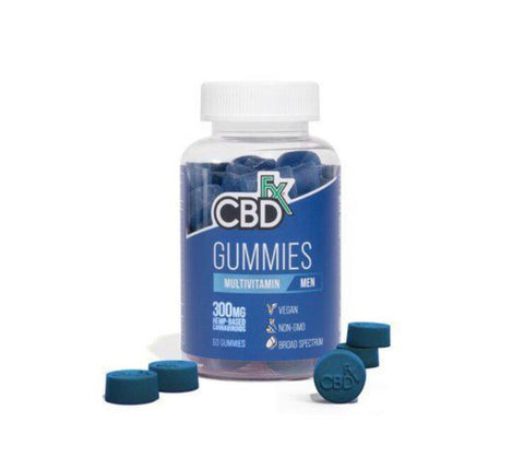 CBDFx Men's Multivitamin Gummies CBD Daily Vitamin