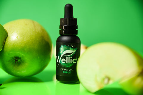 Buy Wellicy Apple CBD Oil - CBD Tincture & CBD Vape Oil