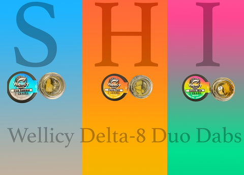 Wellicy Delta-8 Duo Dabs