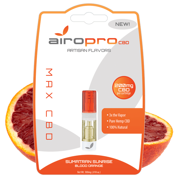 AiroPro CBD Sumatran Sunrise CBD Vape Cartridge - 200mg