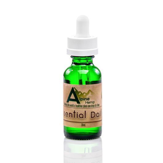 Essential Daily CBD Tincture by Alpine Hemp 30mL