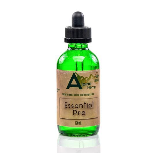 Essential Pro CBD Tincture by Alpine Hemp 120ml