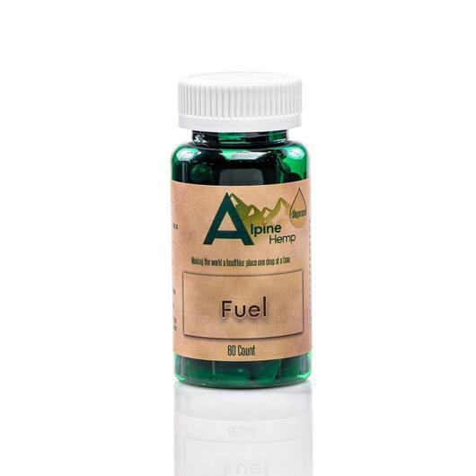 Fuel CBD Capsules by Alpine Hemp