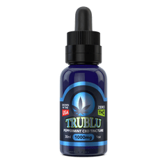 Blue Moon Hemp TruBlu Peppermint CBD Oil Tincture 1000MG