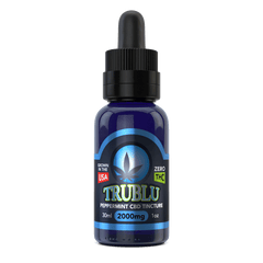 Blue Moon Hemp TruBlu Peppermint CBD Oil Tincture 2000MG
