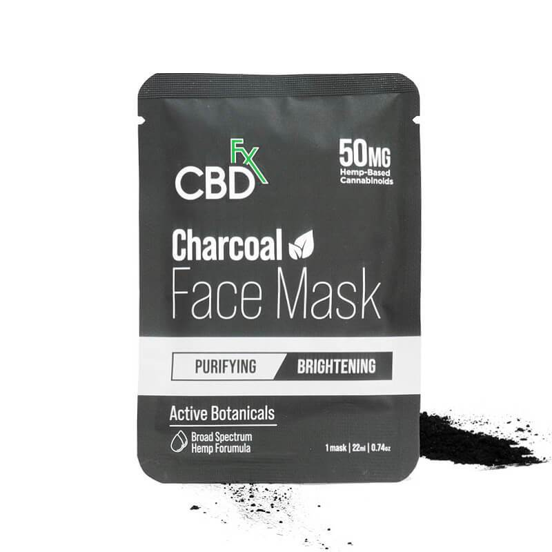 CBDFx CBD Charcoal Face Mask | 50mg Broad Spectrum Hemp Extract