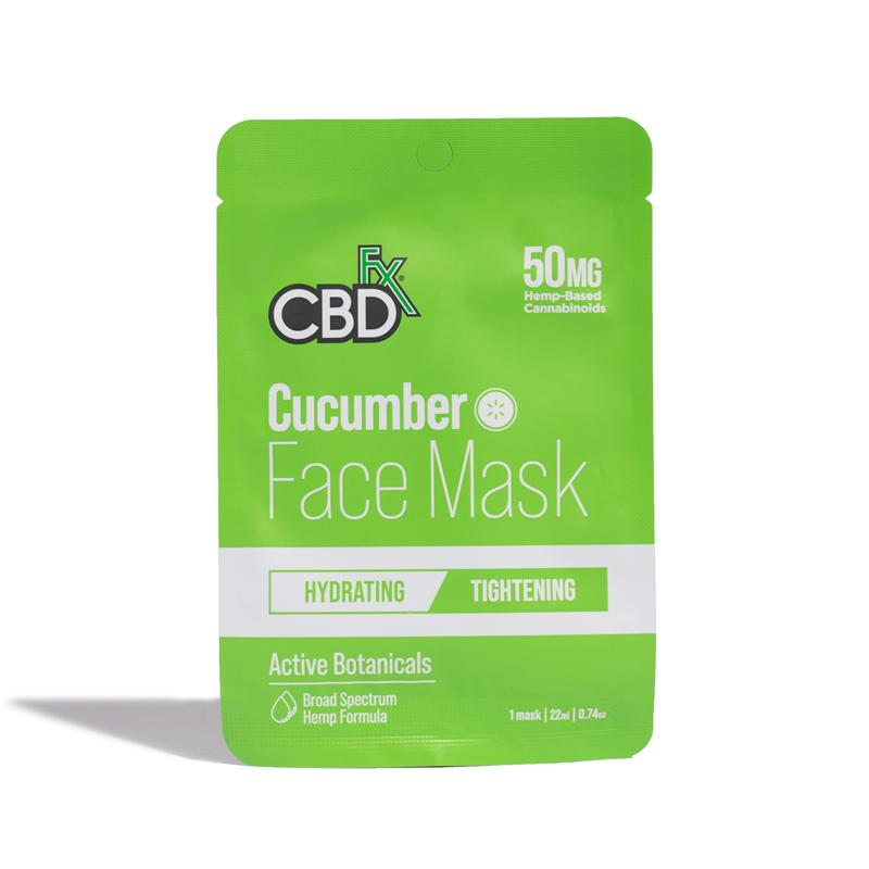 CBDFxCucumber CBD Face Mask | 50mg Broad Spectrum CBD
