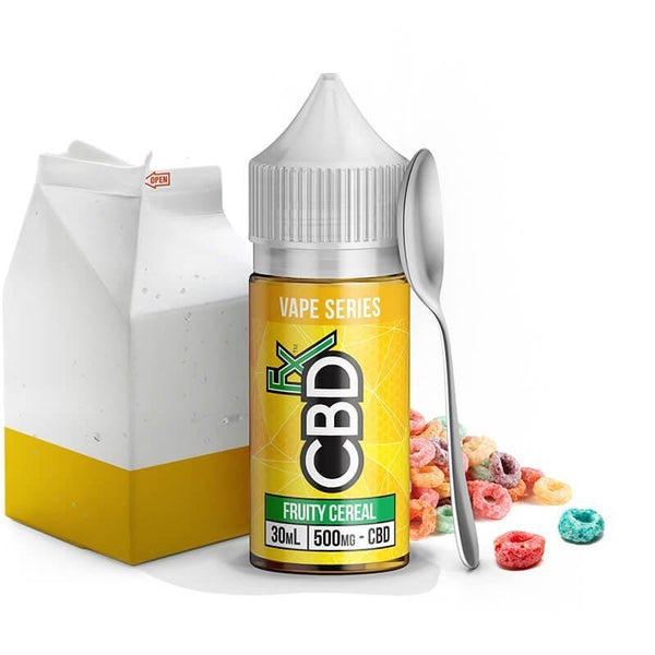 CBDFx Fruity Cereal CBD Vape Oil - 500mg CBD