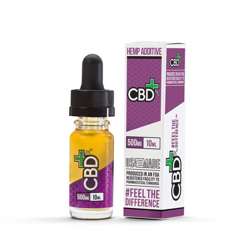 CBDFx CBD Oil Hemp Additive (500mg)