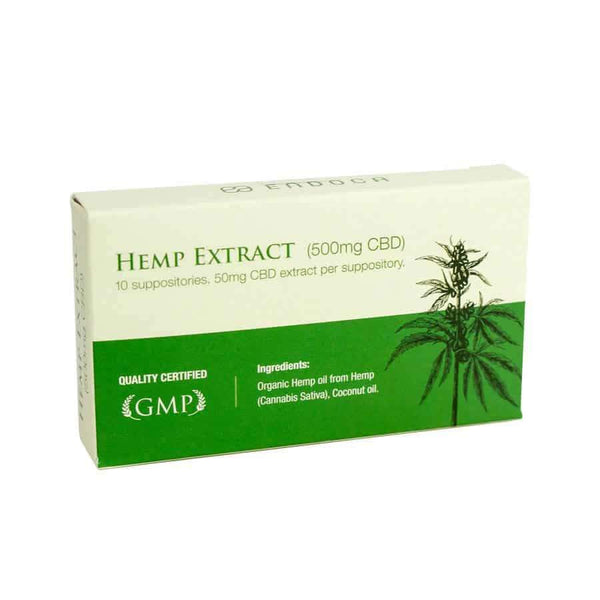 Endoca Hemp CBD Suppository (10 Pack)