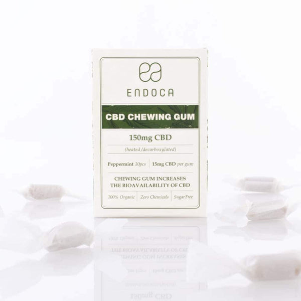 Endoca Hemp Oil Gum - 10 Pack