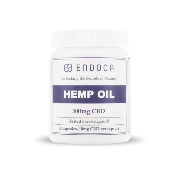 Endoca Hemp Oil CBD Capsules
