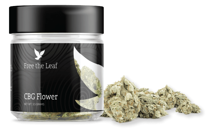 CBG Flower for Sale | Free the Leaf CBG Flower by Green Roads 3.5 Grams